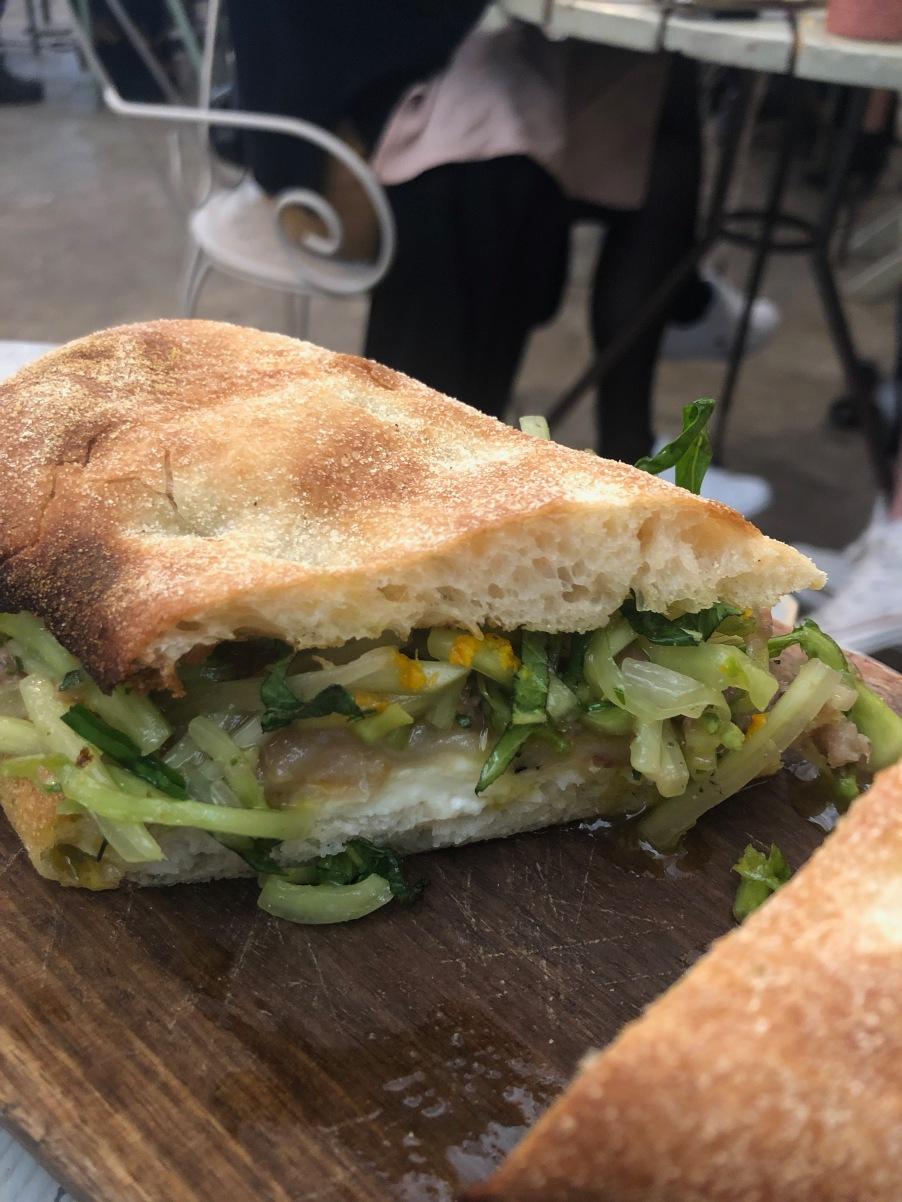 The amazing sandwich at Pianastrada